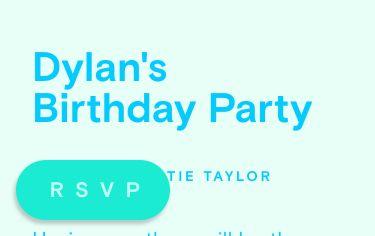 Birthday invitations - online at Paperless Post