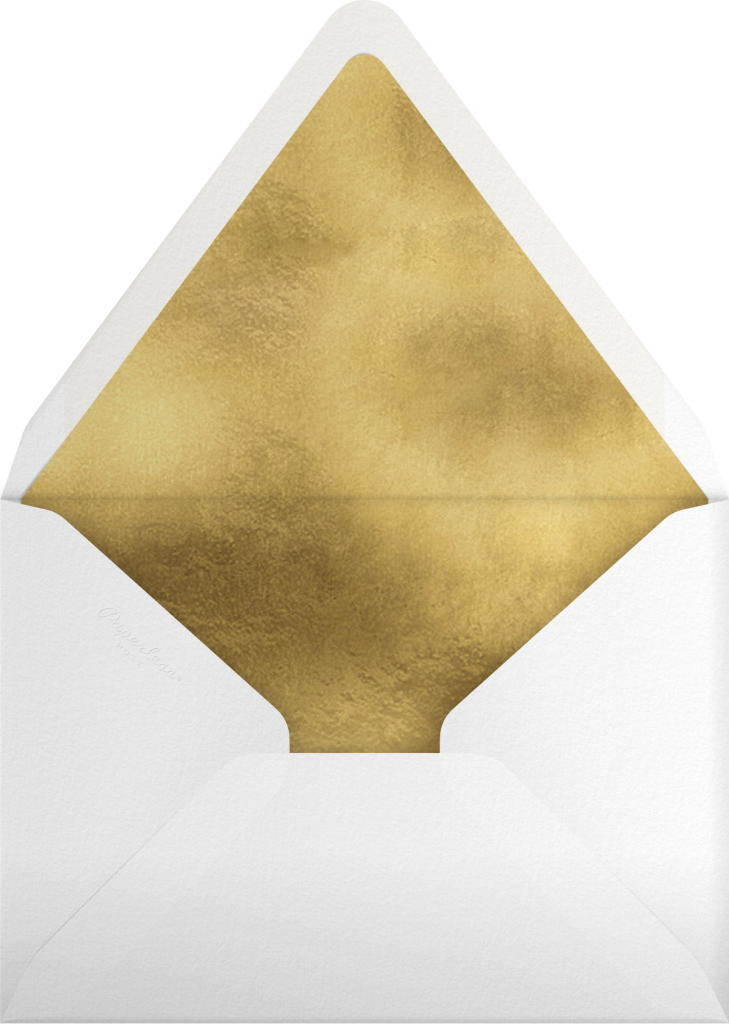 Christmas Delivery - Deep - Rifle Paper Co. - Envelope
