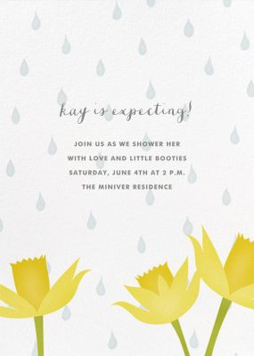 April Showers - Paperless Post