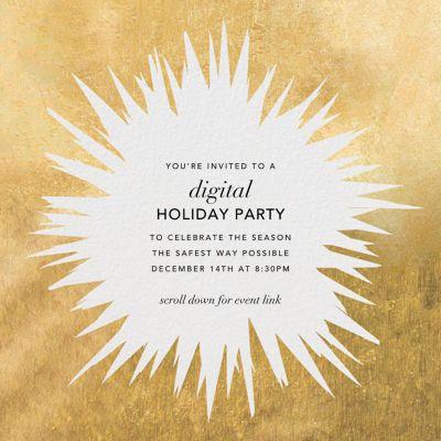 Exuberant - Kelly Wearstler - Holiday invitations