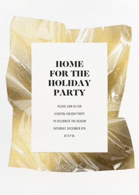 Unwrapped - Paperless Post - Company holiday party