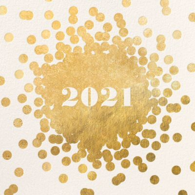 Confetti New Year - kate spade new york - New Year's Eve Invitations