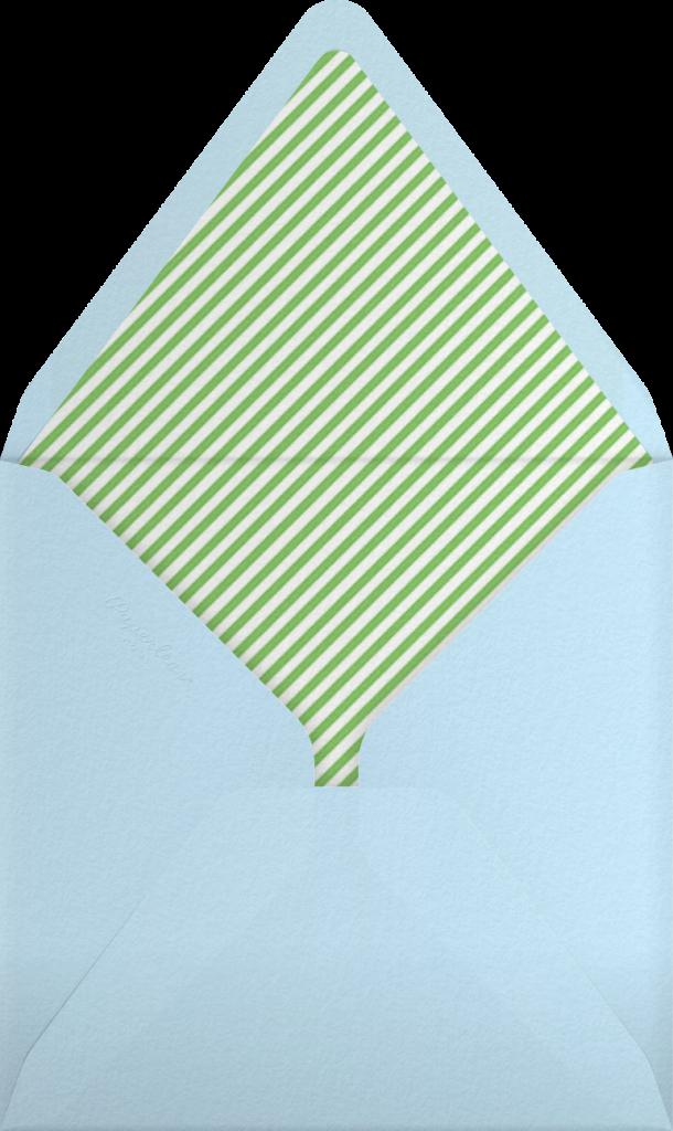 Sweden in the Summer - Green - Mr. Boddington's Studio - Envelope