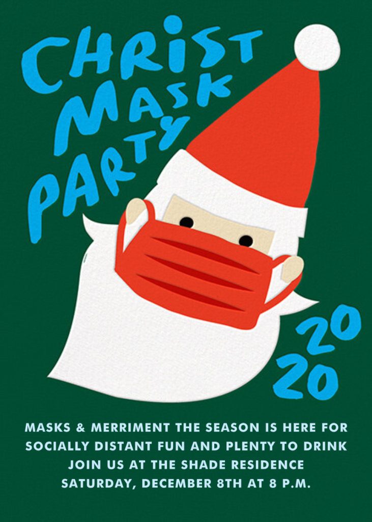 Christmask Party - Light - Cheree Berry Paper & Design