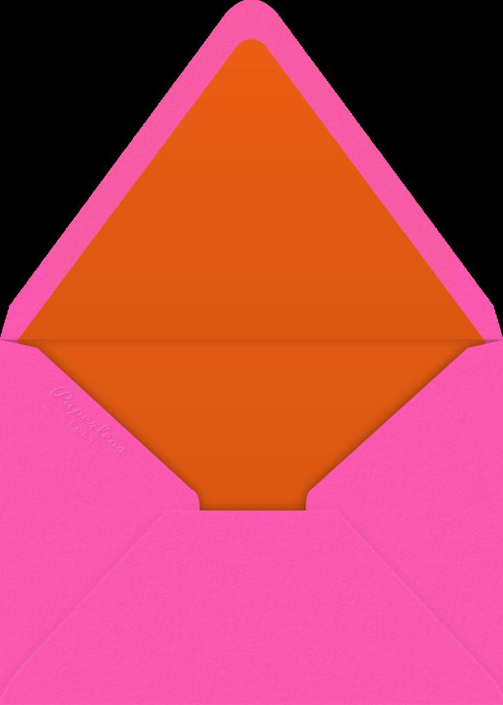 Gradient Painted - Pink - Paperless Post - Envelope