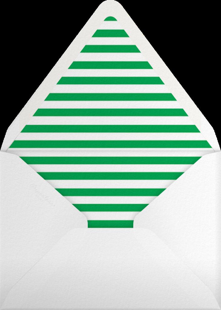 Merry Mod - The Indigo Bunting - Envelope