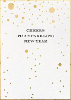 Champagne Bubbles (Double-Sided) - kate spade new york