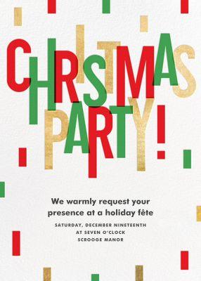 Christmas Cascade - Paperless Post