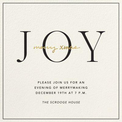 Ring in Joy - Sugar Paper