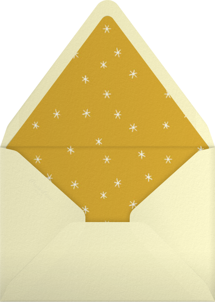 Old Fashioned - Paperless Post - Envelope