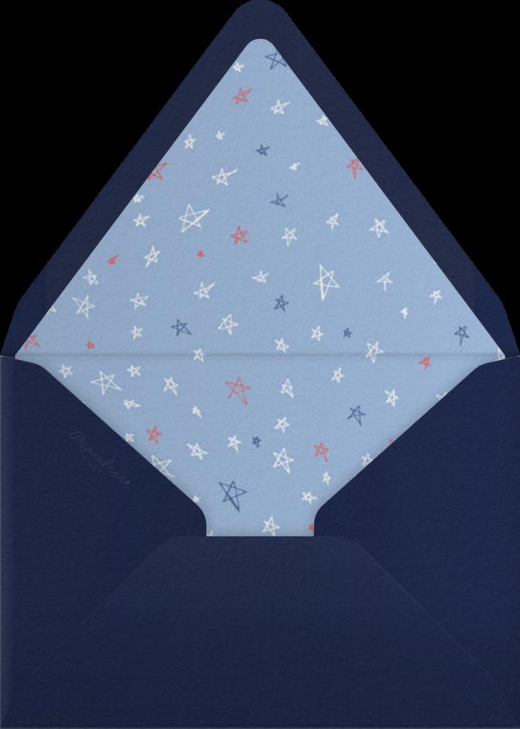 Gradient Full (Tall) - Blue - Paperless Post - Envelope