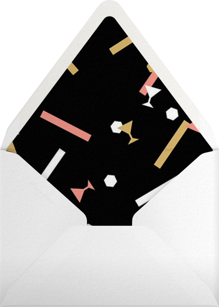 Confettitini - Paperless Post - Envelope