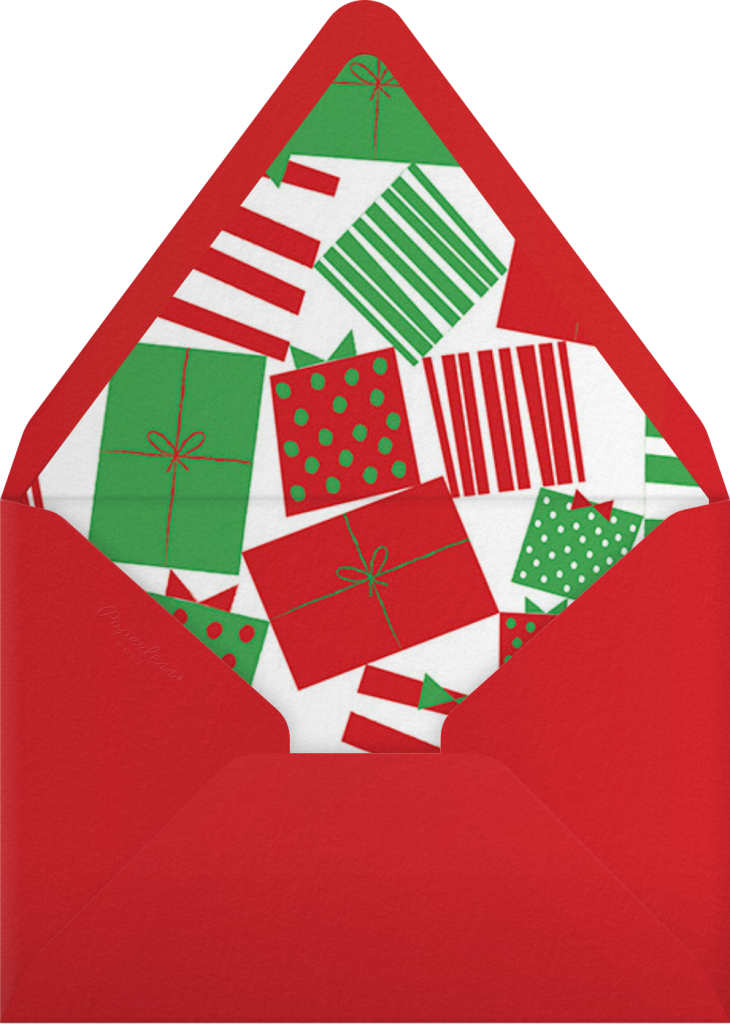 Rosy Cheeks - Paperless Post - Envelope