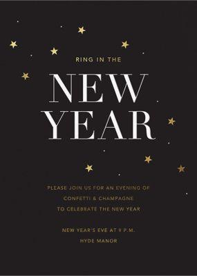 New Years Sky - Sugar Paper