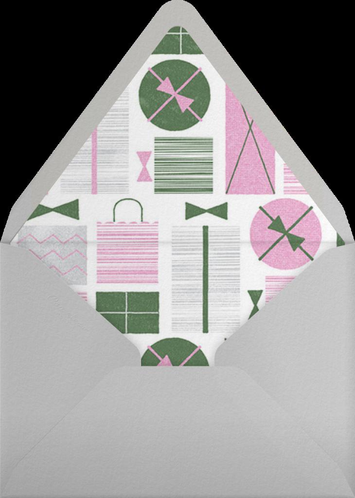 Gift Swap - Mauve - Paperless Post - Envelope