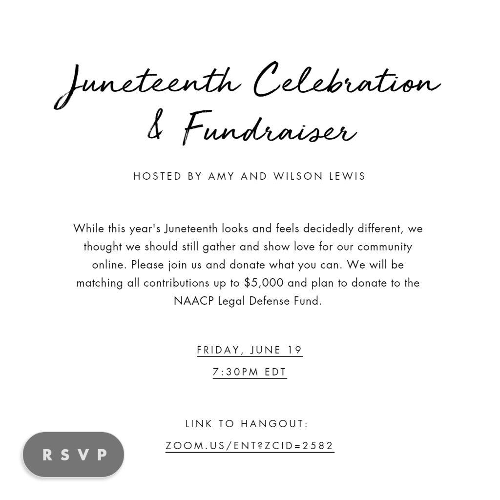 Juneteenth Fundraiser