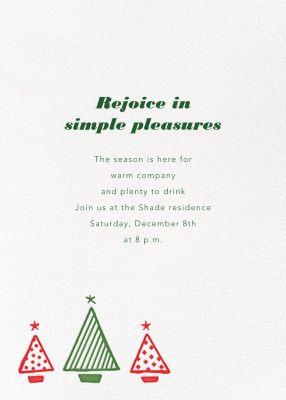 Graphic Christmas Tree - Paperless Post
