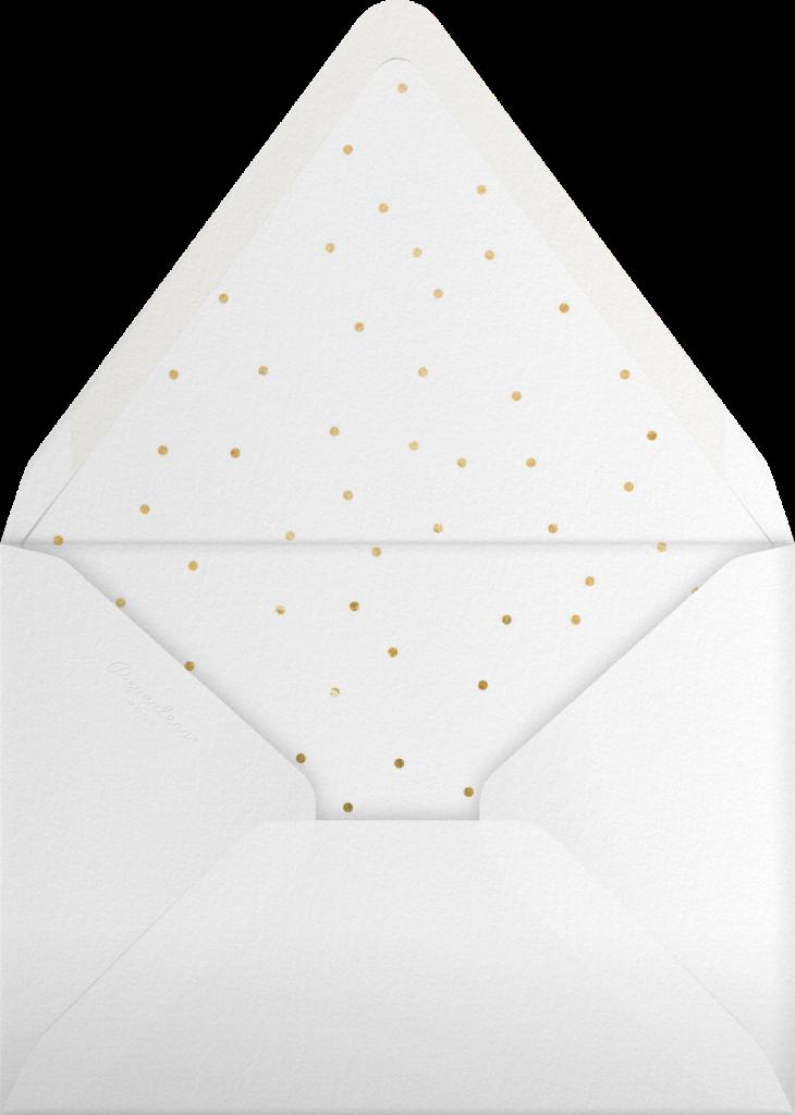Firework - White - Paperless Post - Envelope
