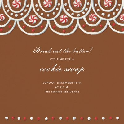 Peppermint Patio - Paperless Post - Holiday invitations