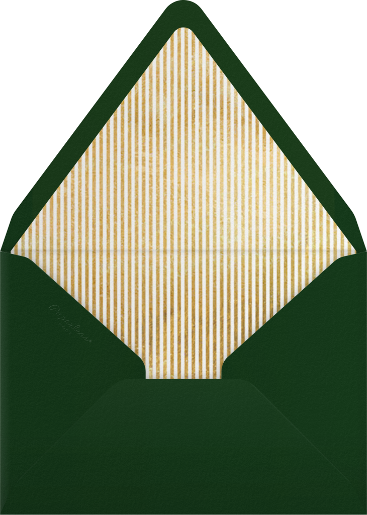 Confetti Flurry - Paperless Post - Envelope