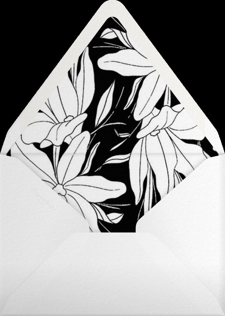 Aubrey (Invitation) - Black  - Paperless Post - Envelope