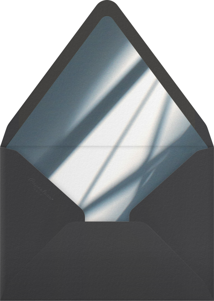 Block Island, 4pm - Taupe - Paperless Post - Envelope