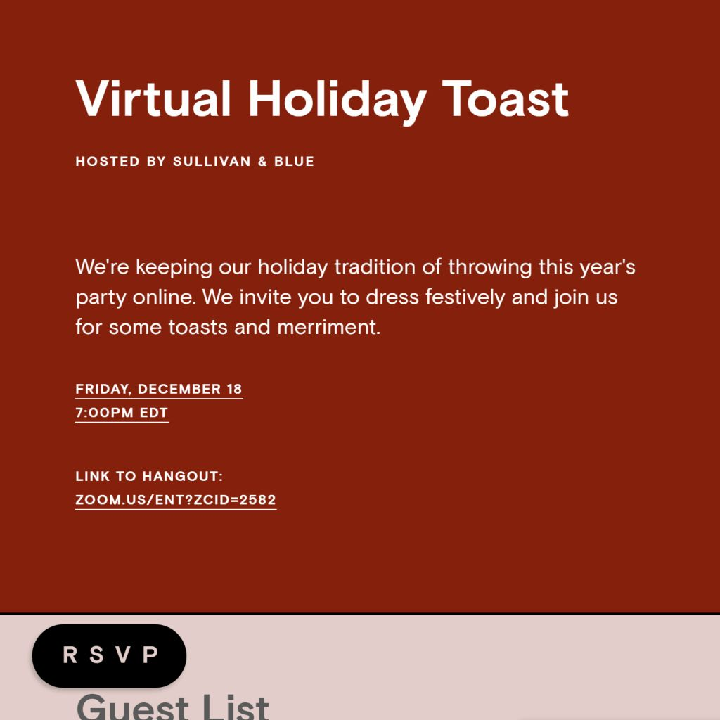 Holly Toast