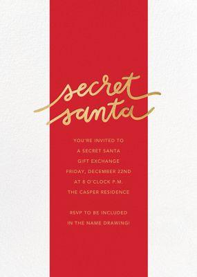 Santa Stripe - Sugar Paper