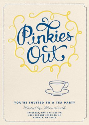 Pinkies Out - Crate & Barrel