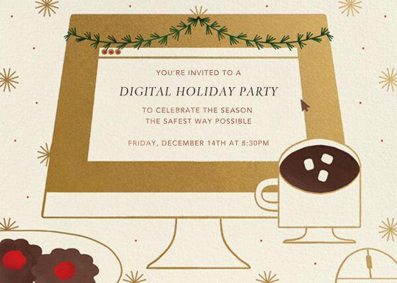 December Desktop - Paperless Post - Holiday invitations