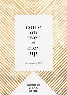 Axis - Kelly Wearstler - Holiday invitations
