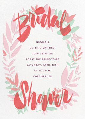 Bridal Bower - Paperless Post