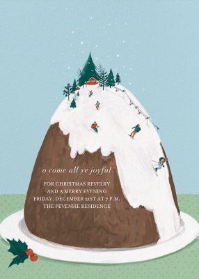 Mount Pudding (Invitation) - Paperless Post