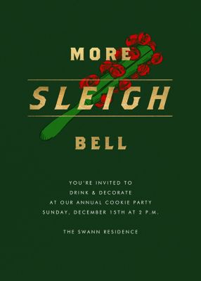 More Sleigh Bell - Paperless Post