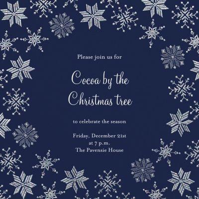 Carolling Season - Paperless Post - Holiday invitations