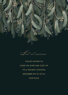 Verdure (Invitation) - Paperless Post - Holiday invitations