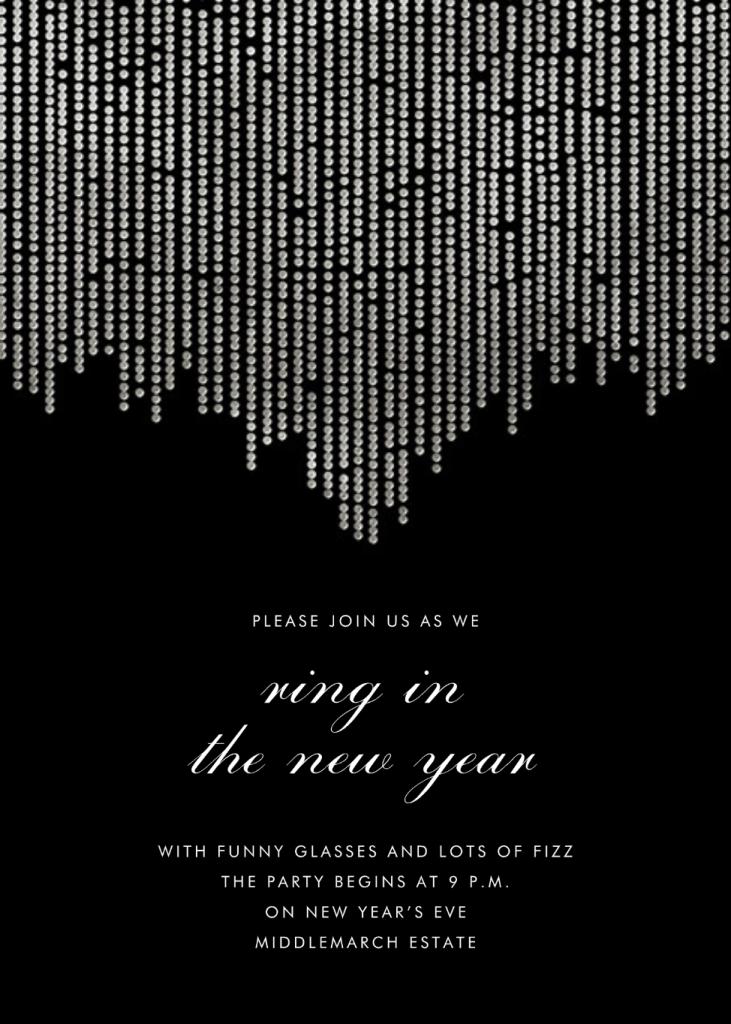 Josephine Baker - Black/Silver - Paperless Post