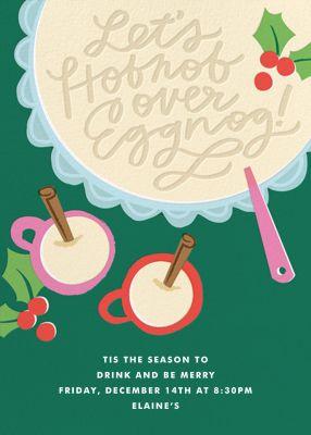 Hobnobbin' and Eggnoggin' - Cheree Berry Paper & Design