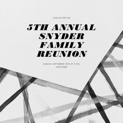 Channels - Kelly Wearstler - Reunion Invitations