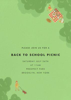 Prospect Park - Paperless Post
