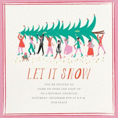 Helping Hands - Mr. Boddington's Studio - Holiday invitations