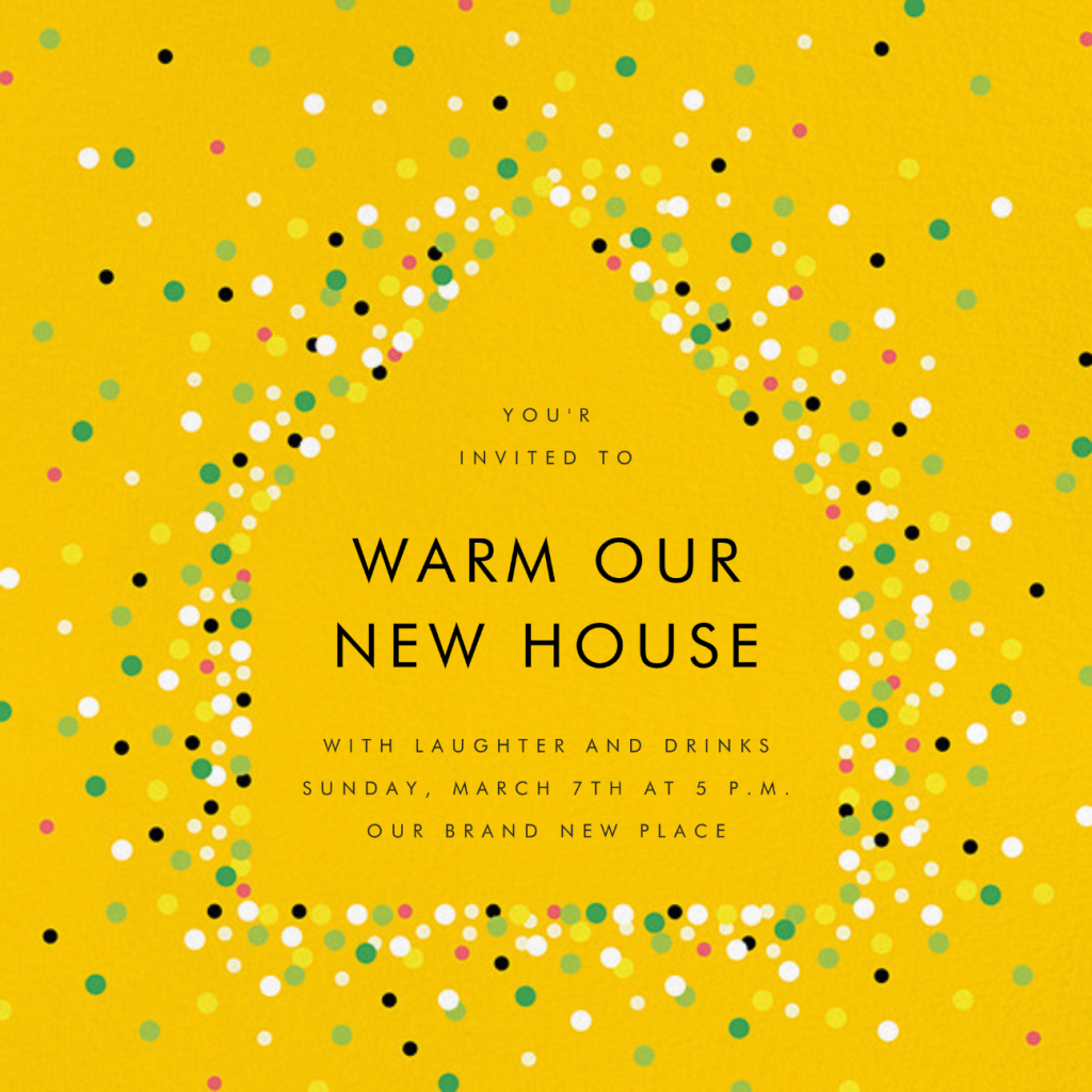 House of Sparks - Yellow - Paperless Post