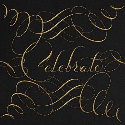 Celebrate Script - Bernard Maisner - Holiday invitations