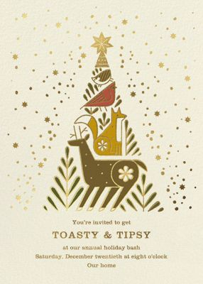 Holiday Totem - Paperless Post