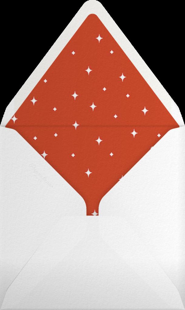 A Little Christmas Magic - Light - Paperless Post - Envelope