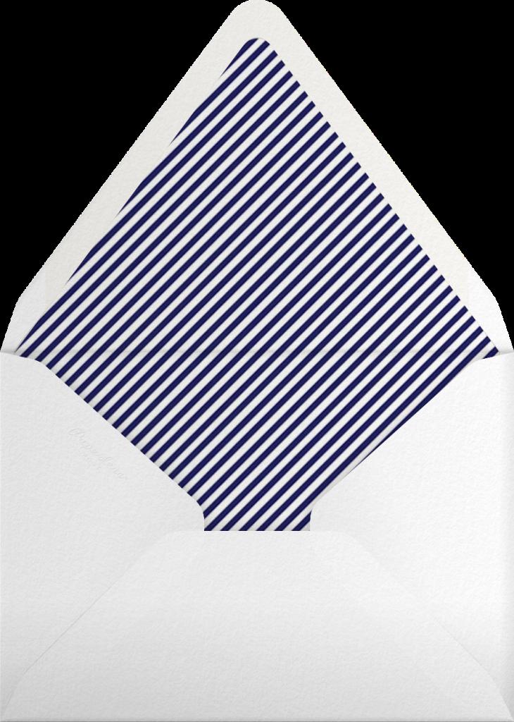 Flip The Burger - Red - Mr. Boddington's Studio - Envelope