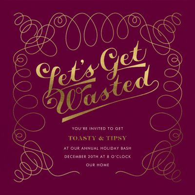 A Waste of an Invitation - Derek Blasberg