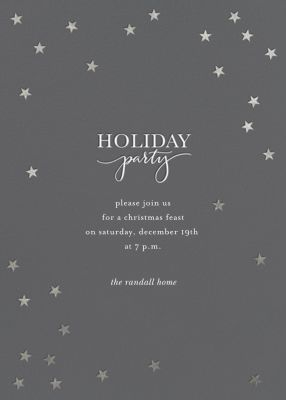 Starry Holidays - Sugar Paper