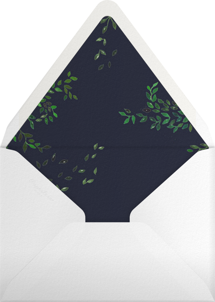 Hedgerow - Happy Menocal - Envelope