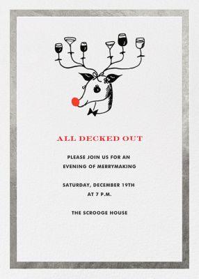 Reindeer Cocktails - kate spade new york